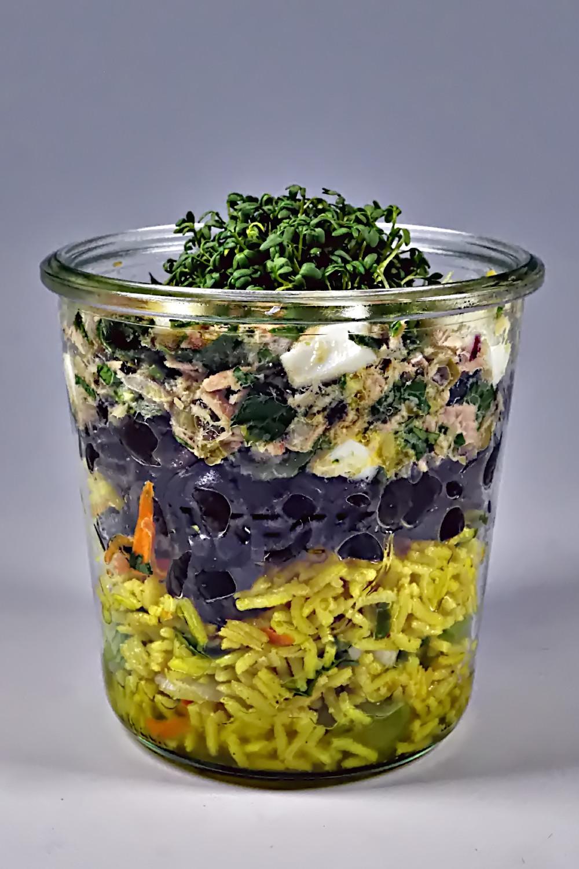 Salat im Glas - Fishers Friend